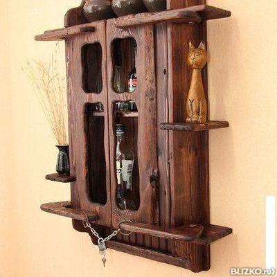 Шкафы из дерева для кухни своими руками