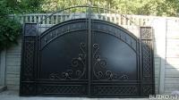 Ворота металлические в минеральных водах ворота для дачи распашные автоматические в можайске