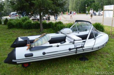 надувная лодка riverboats rb-350tt