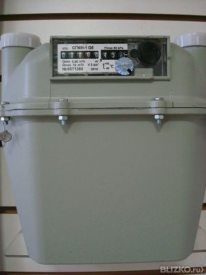 Счетчик газа СГМН-1М-G6 (200/250 мм.)