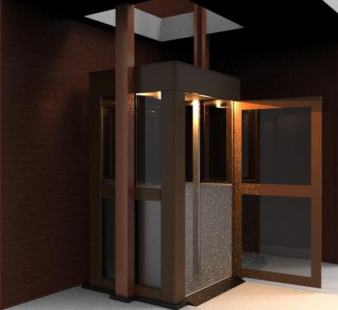 Лифт малый для коттеджа Новолифт